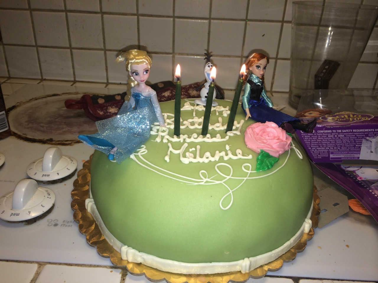 Tracy Grant Frozen Cake